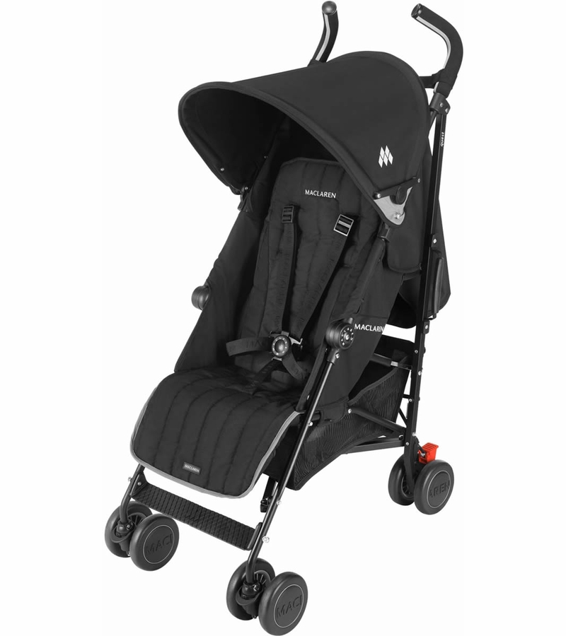 Maclaren quest sport stroller black black for Maclaren quest precio