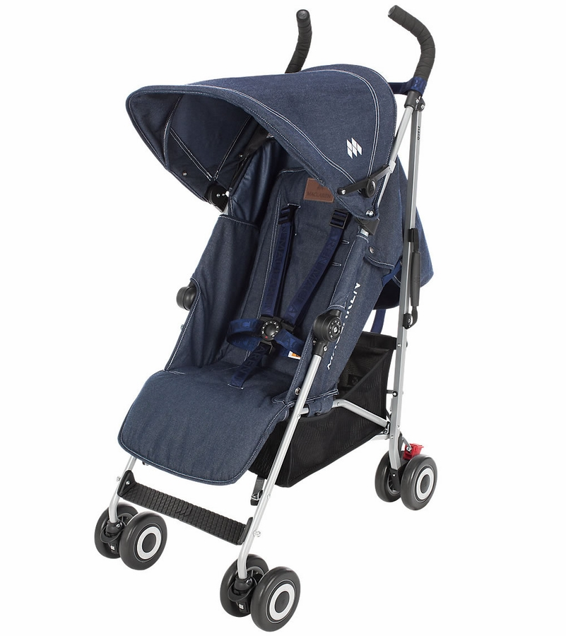 maclaren 2016 2017 quest stroller denim indigo. Black Bedroom Furniture Sets. Home Design Ideas