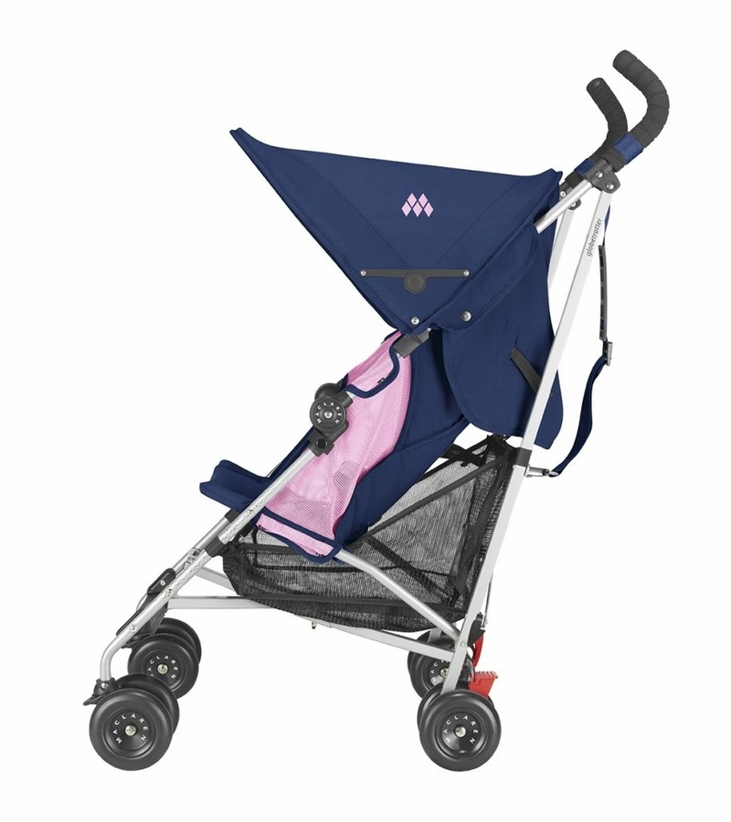 maclaren globetrotter stroller blue fuchsia. Black Bedroom Furniture Sets. Home Design Ideas
