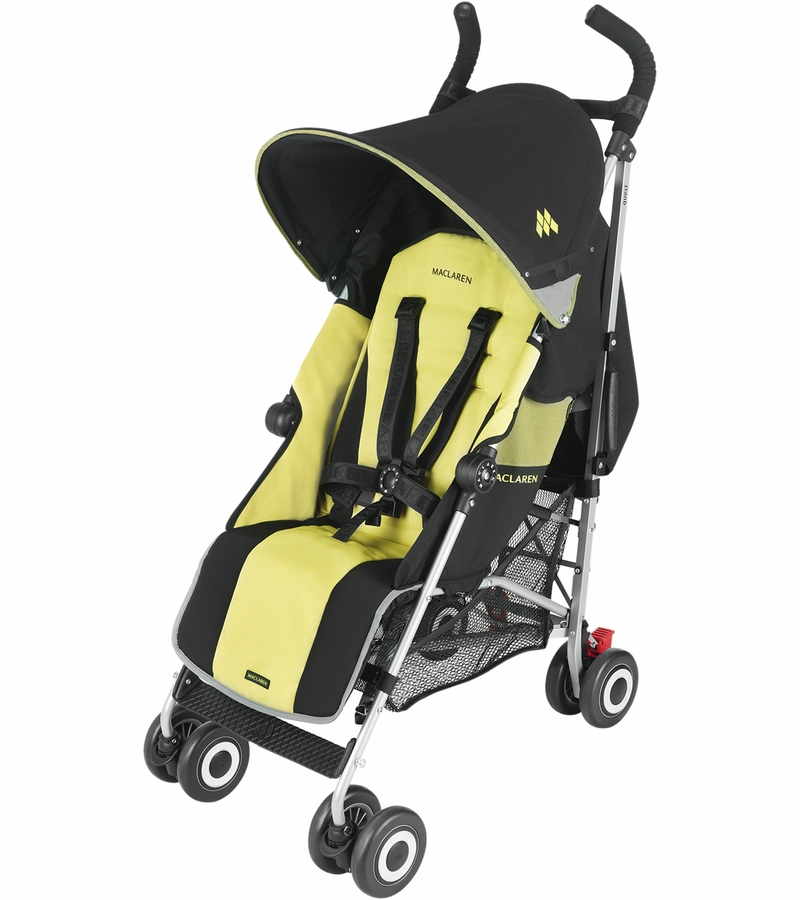 Maclaren quest sport stroller black citrus lime for Maclaren quest precio