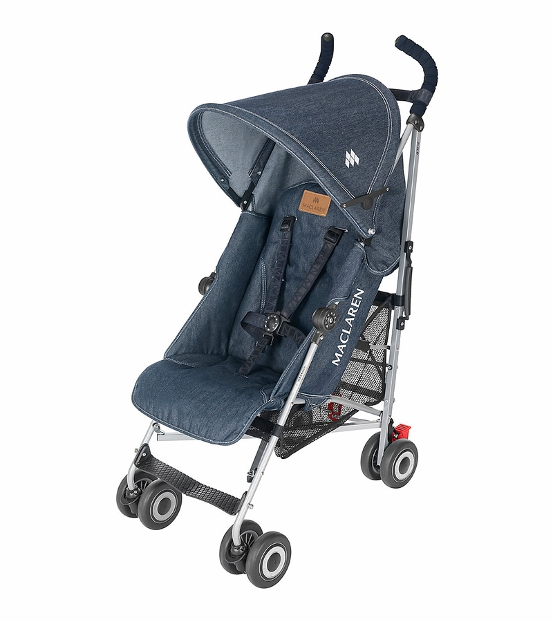 maclaren quest sport stroller denim limited edition. Black Bedroom Furniture Sets. Home Design Ideas
