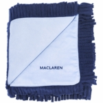 Maclaren Reversible Baby Blanket in Navy/ Soft Blue