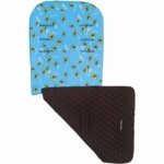 Maclaren Reversible Seat Liner Dandelion Pool Blue/Coffee