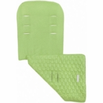 Maclaren Reversible Seat Liner Eco Recycled Polyester Leaf Green