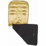 Maclaren Reversible Seat Liner Metallic Gold Black