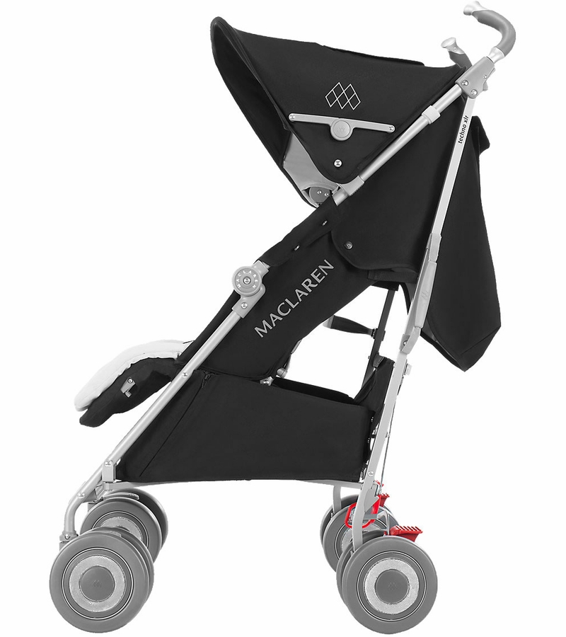 maclaren 2016 2017 techno xlr stroller black silver. Black Bedroom Furniture Sets. Home Design Ideas