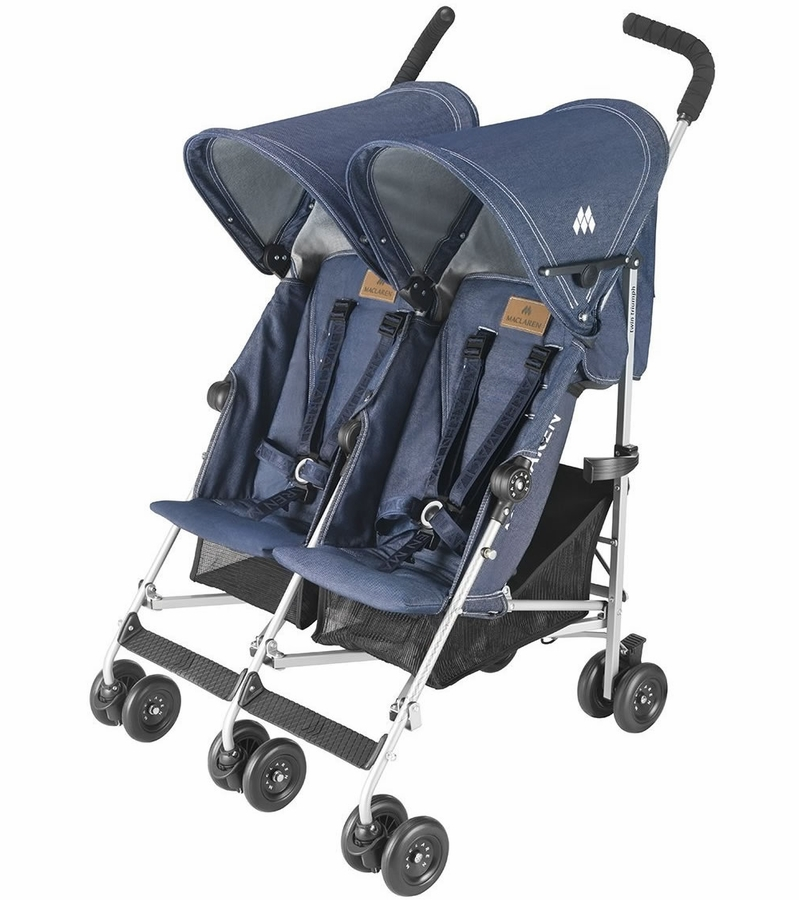 Maclaren twin triumph denim - Silla maclaren amazon ...