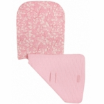 Maclaren Universal Reversible Seat Liner in Layered Blush Pink