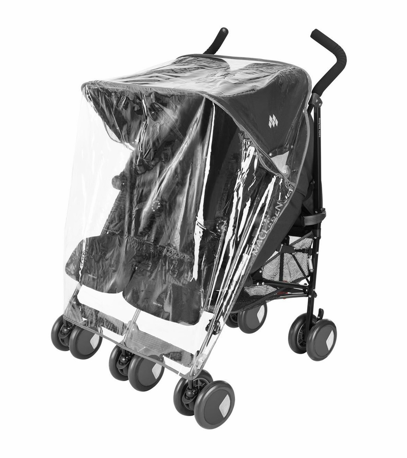 maclaren universal twin stroller rain cover. Black Bedroom Furniture Sets. Home Design Ideas
