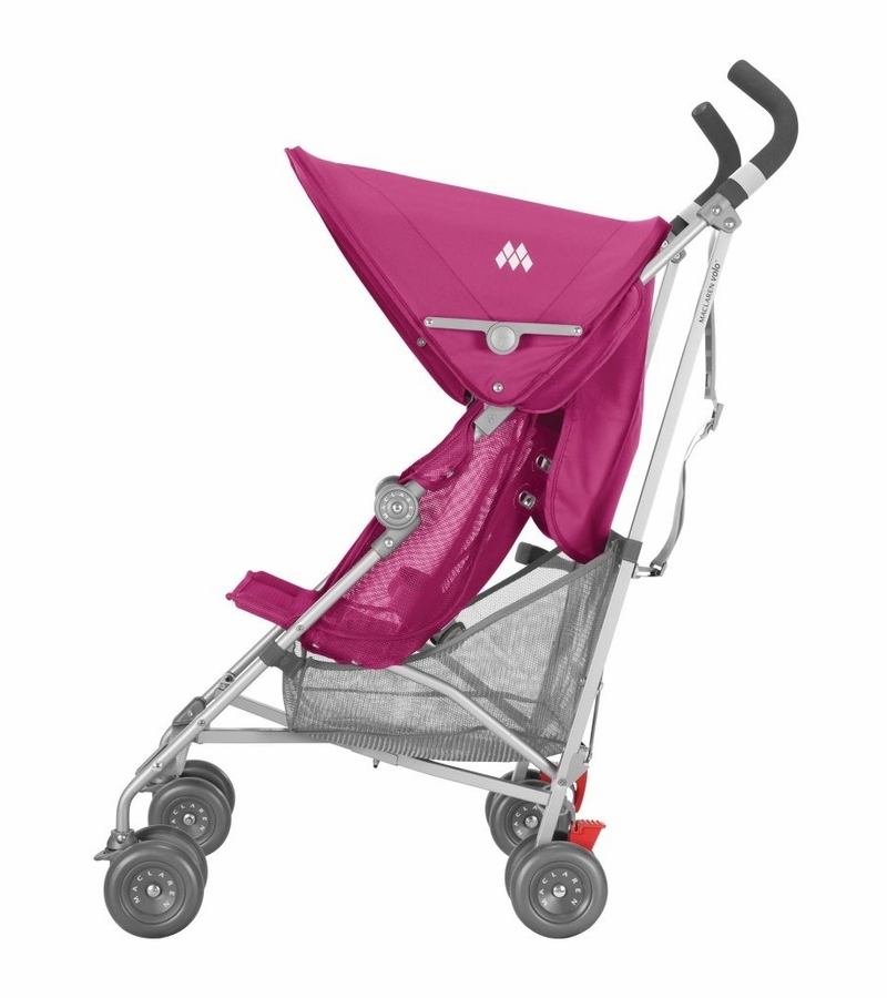 maclaren volo stroller festival fuchsia. Black Bedroom Furniture Sets. Home Design Ideas