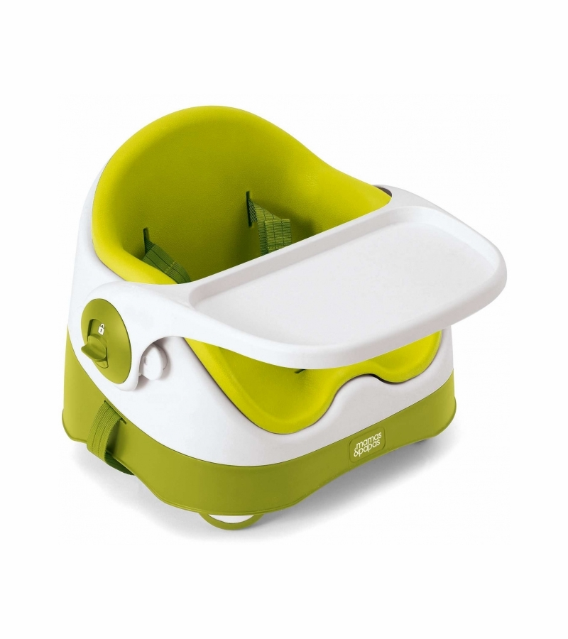 Mamas Papas Baby Bud Booster Seat Activity Tray Lime