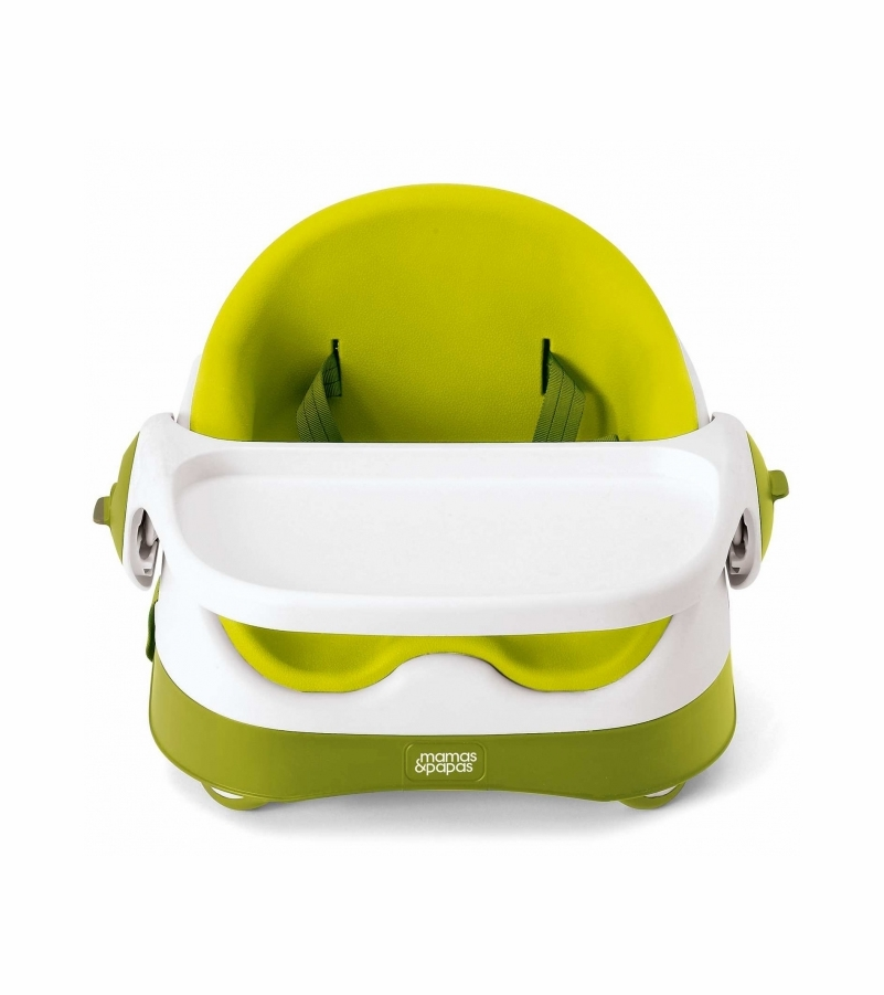 ITEM# 412317400  sc 1 st  Albee Baby & Mamas u0026 Papas Baby Bud Booster Seat u0026 Activity Tray - Lime