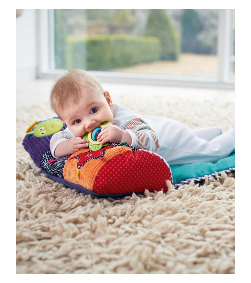 Baby Boy Gifts Mamas And Papas : Mamas papas babyplay tummy time snugglerug