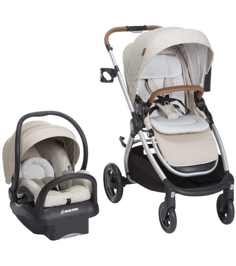 Maxi Cosi Travel System Sand