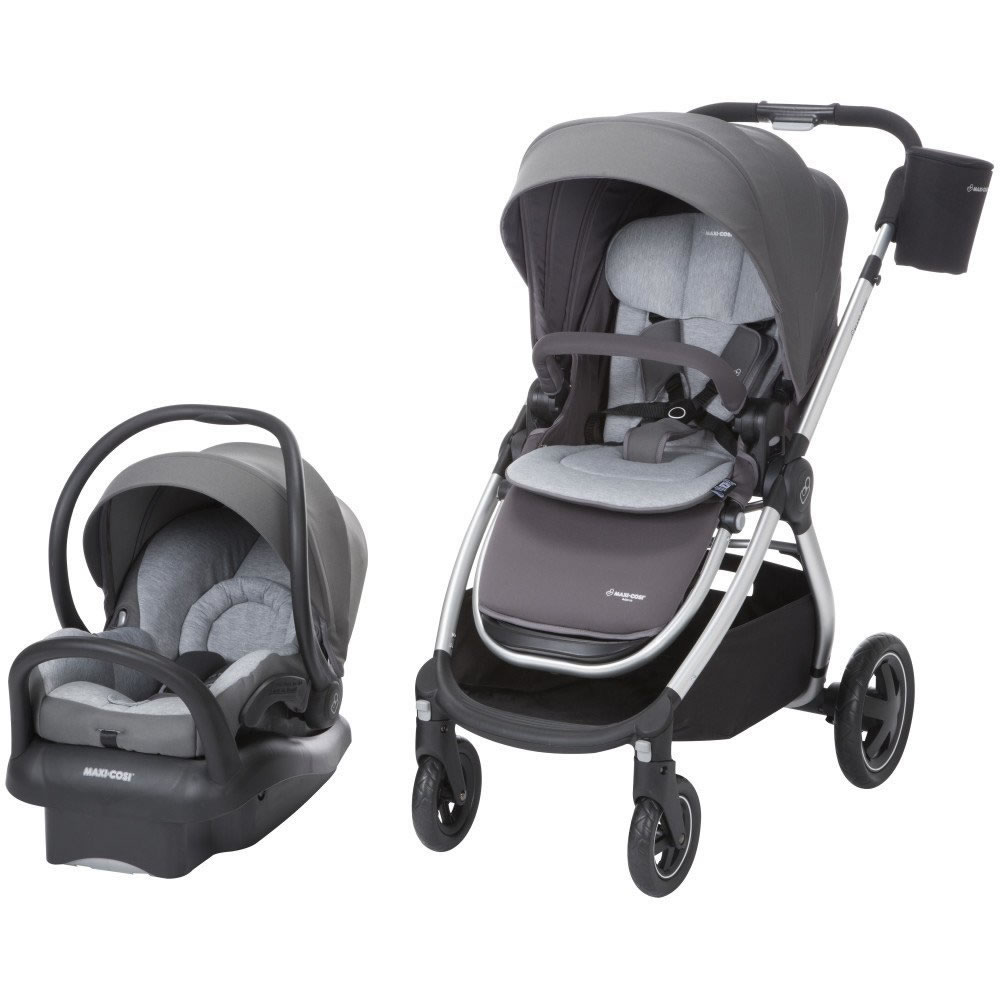 MAXI-COSI Adorra Travel System - Loyal Grey