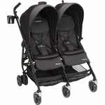 Maxi-Cosi Dana For2 Double Stroller - Devoted Black