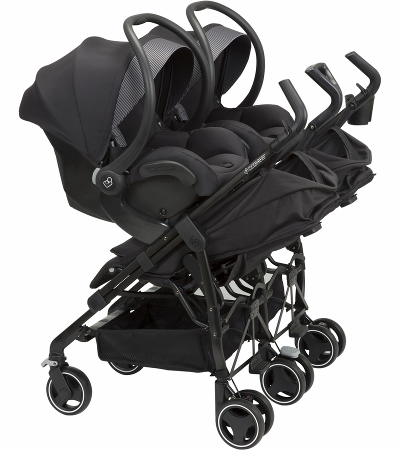 Maxi Cosi Dana For2 Double Stroller Devoted Black