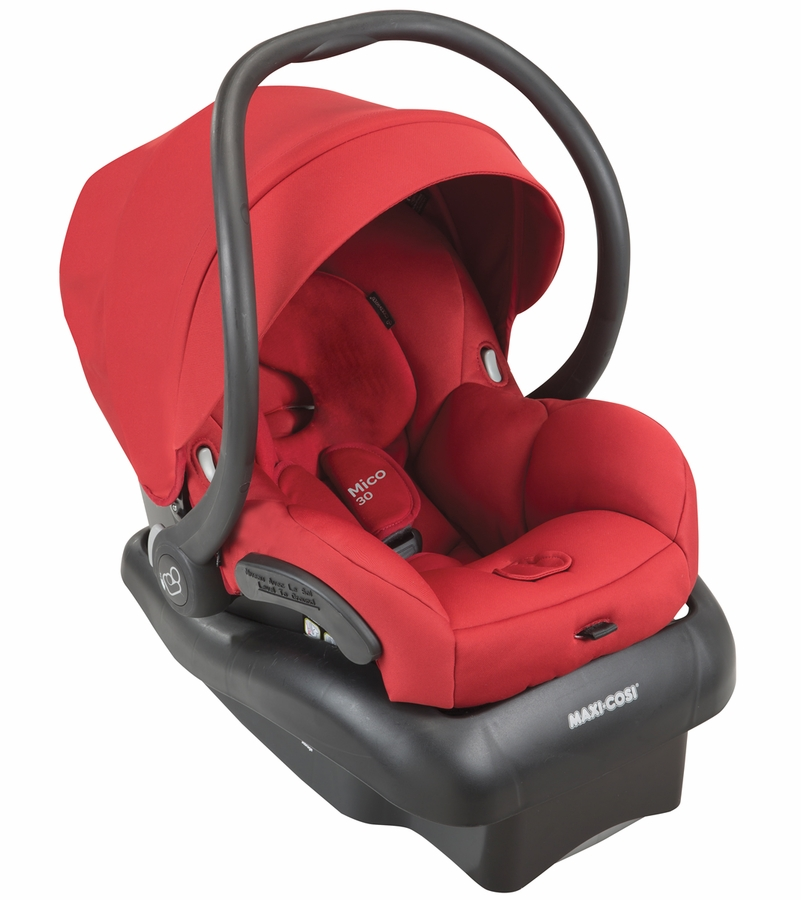 Maxi cosi mico 30 infant car seat red rumor for Maxi cosi housse