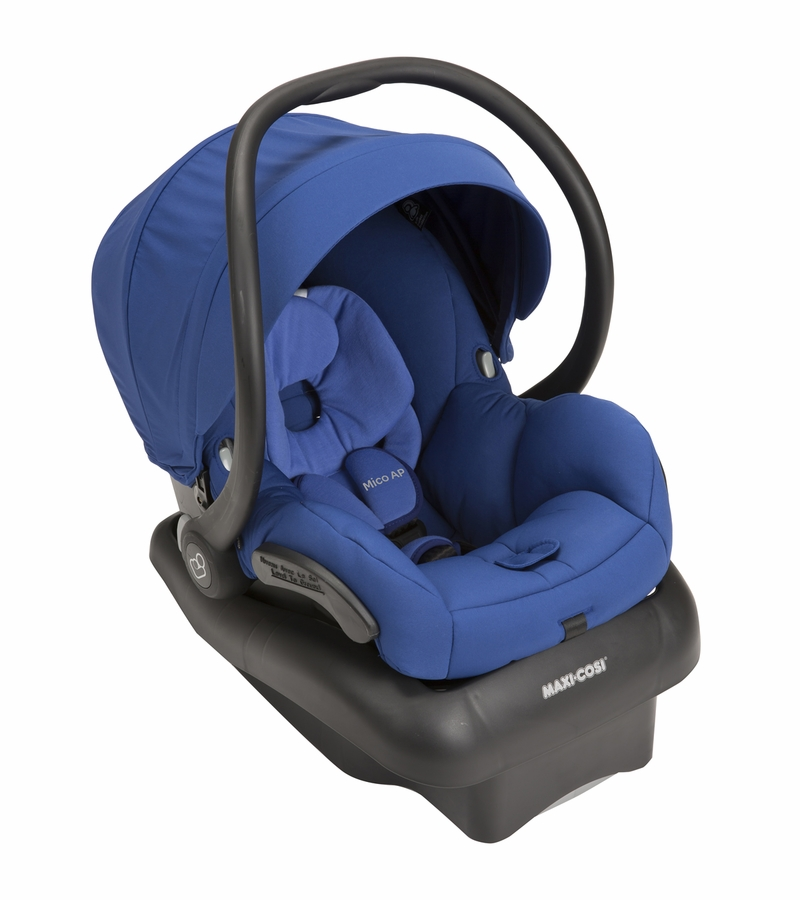 maxi cosi mico ap infant car seat blue base. Black Bedroom Furniture Sets. Home Design Ideas