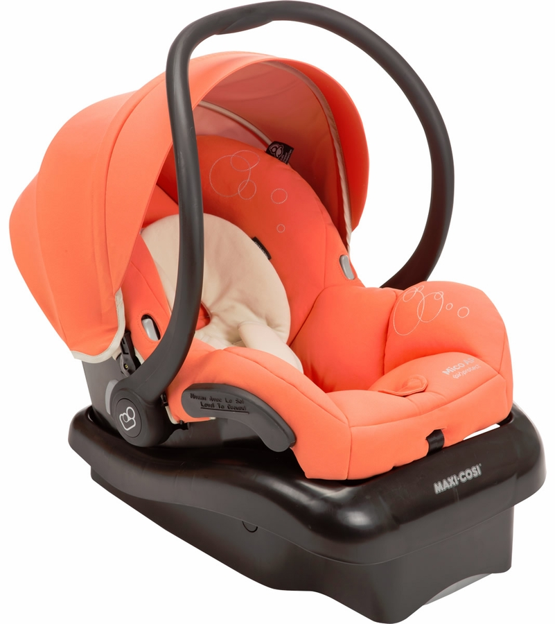 maxi cosi mico ap infant car seat orange zest. Black Bedroom Furniture Sets. Home Design Ideas