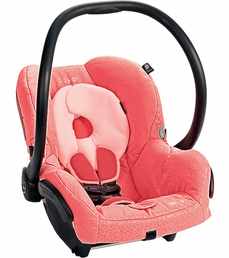 maxi cosi mico infant car seat leopard pink. Black Bedroom Furniture Sets. Home Design Ideas