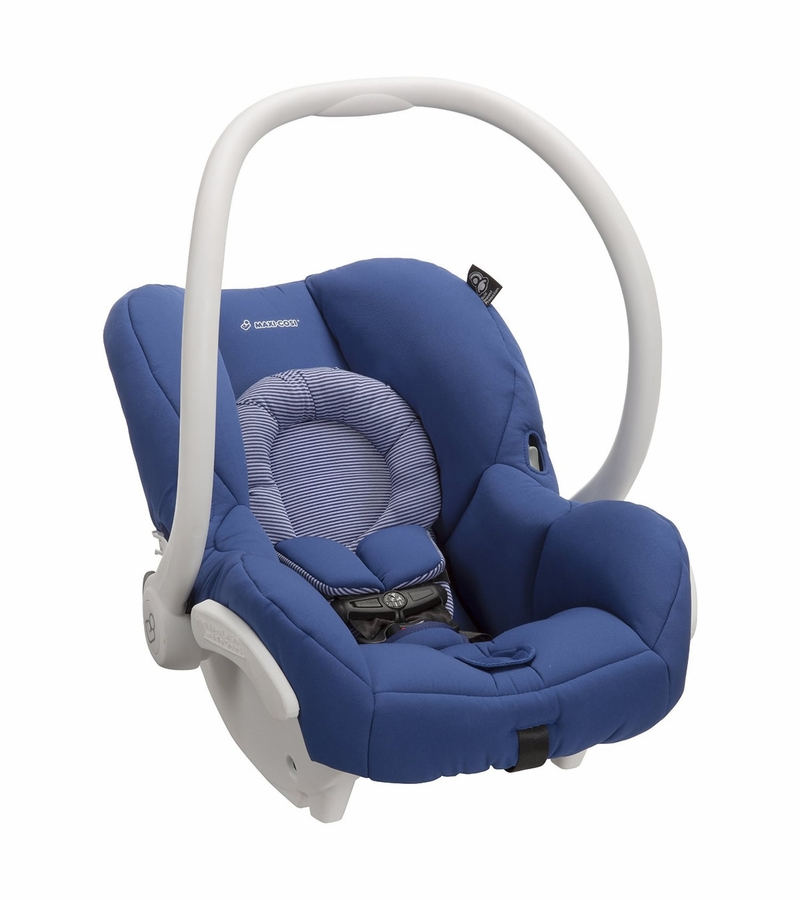 maxi cosi mico max 30 infant car seat white collection blue base. Black Bedroom Furniture Sets. Home Design Ideas