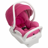 Maxi Cosi Mico Max 30 Infant Car Seat, White Collection - Pink Berry