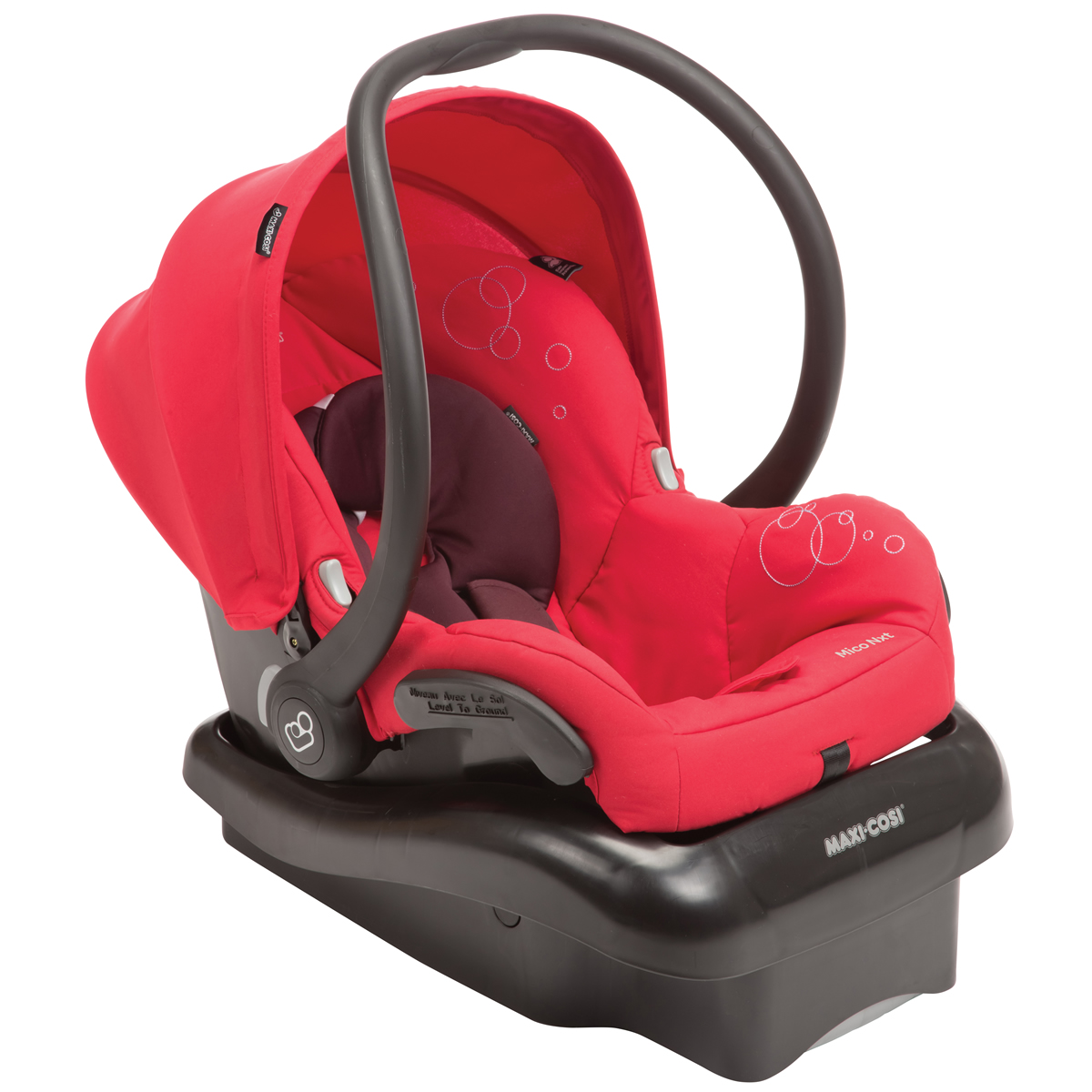 MAXI-COSI Mico Nxt Infant Car Seat - Intense Red - IC166INT