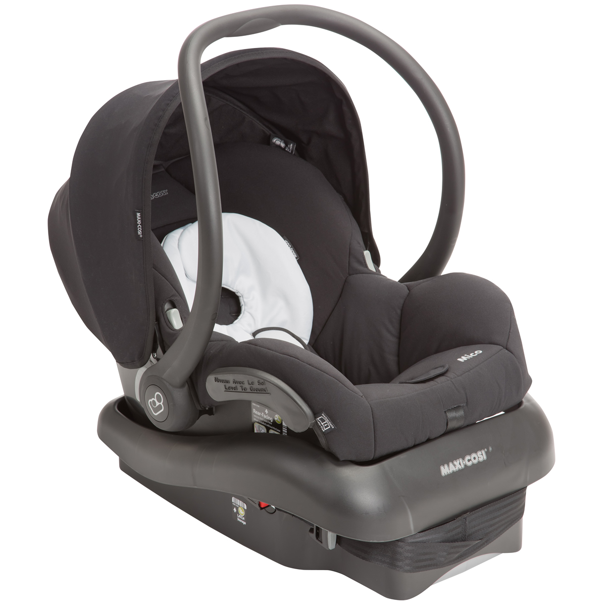 maxi cosi mico nxt infant car seat ironic black. Black Bedroom Furniture Sets. Home Design Ideas