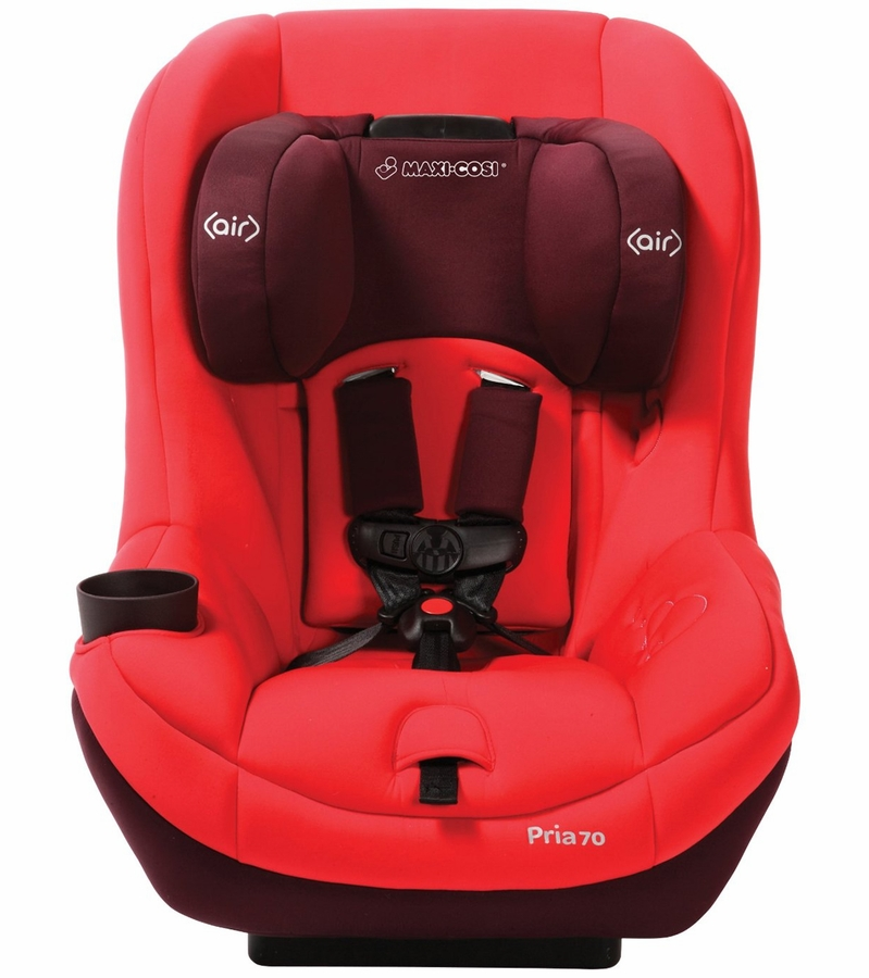 maxi cosi pria 70 convertible car seat with tiny fit intense red. Black Bedroom Furniture Sets. Home Design Ideas
