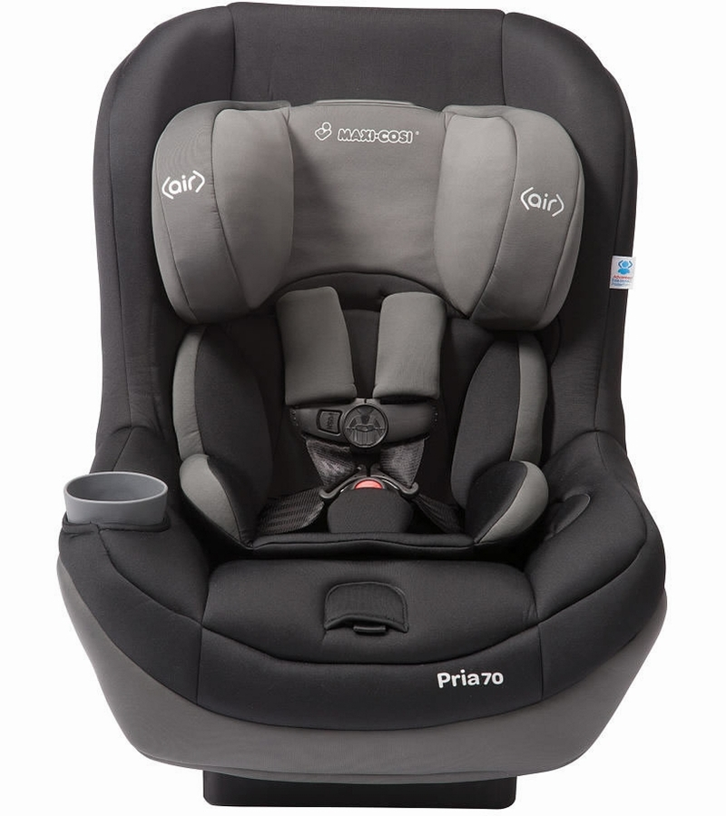 Maxi cosi pria 70 convertible car seat total black for Maxi cosi housse