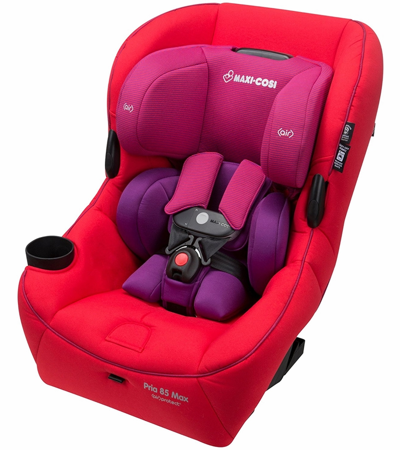 maxi cosi pria 85 max convertible car seat red orchid. Black Bedroom Furniture Sets. Home Design Ideas