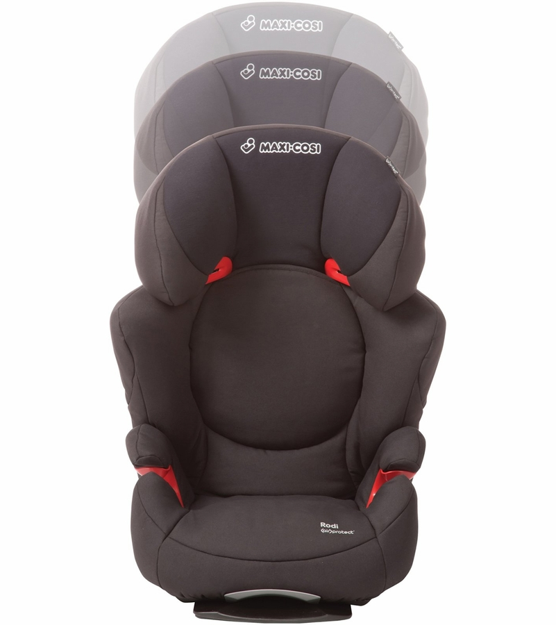 maxi cosi rodi airprotect booster car seat total black. Black Bedroom Furniture Sets. Home Design Ideas