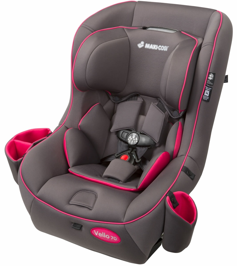 maxi cosi vello 70 convertible car seat grey pink. Black Bedroom Furniture Sets. Home Design Ideas