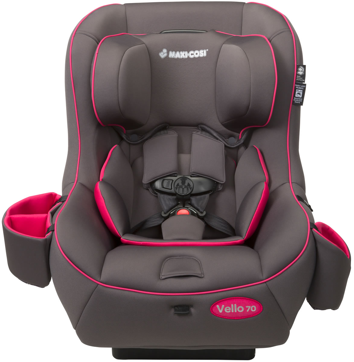 MAXI-COSI Vello 70 Convertible Car Seat - Grey/Pink