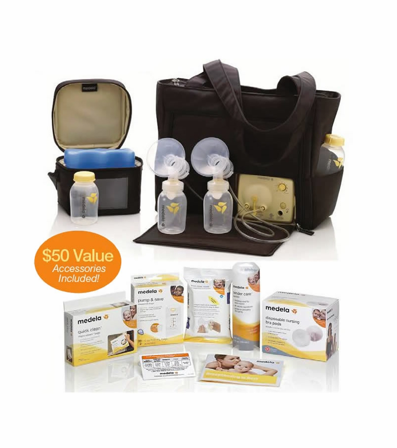 Medela Pump In Style Advanced On The Go Tote Solution Set