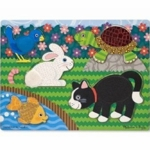 Melissa & Doug Pets Touch and Feel Puzzle