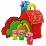 Melissa & Doug Three Little Pigs Play Set
