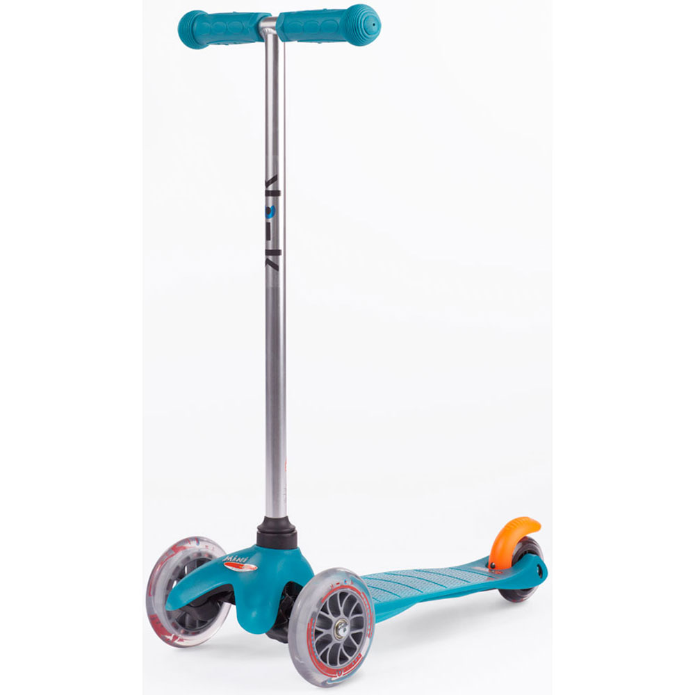 micro kickboard mini micro scooter in aqua. Black Bedroom Furniture Sets. Home Design Ideas