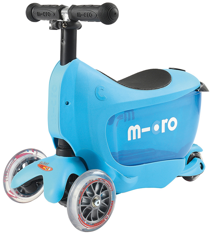 Micro Kickboard Mini2Go Deluxe Scooter - Blue
