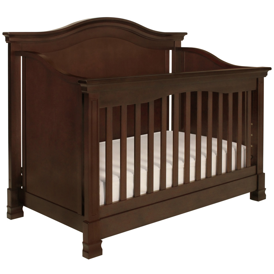 Ashbury 4 In 1 Convertible Crib With Toddler Rail Html