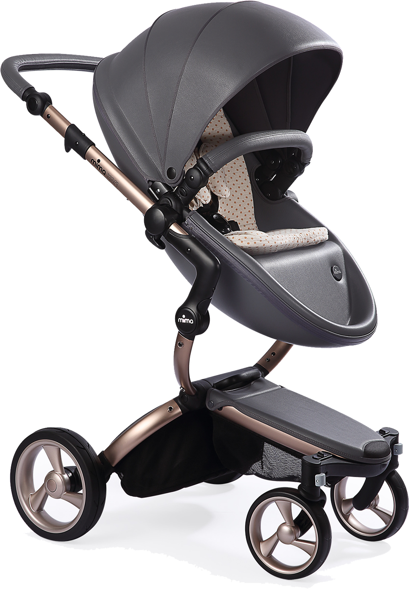Mima Xari Complete Stroller, Rose Gold - Cool Grey / Sand...