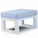 Monte Design Joya Ottoman in Light Blue