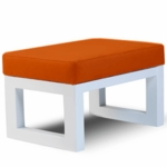 Monte Design Joya Ottoman in Orange
