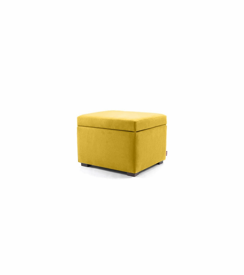 - Monte Design Storage Ottoman In Yellow