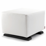 Monte Design Vola Ottoman in White Bonded Leather