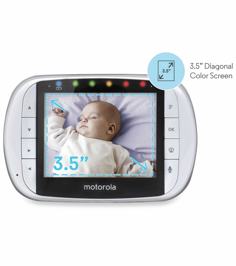 motorola remote wireless 3 5 video baby monitor with usb. Black Bedroom Furniture Sets. Home Design Ideas