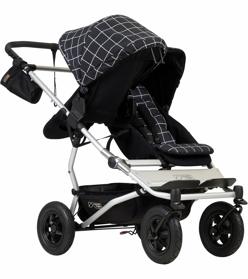 Mountain Buggy Duet 3 0 Double Stroller Grid