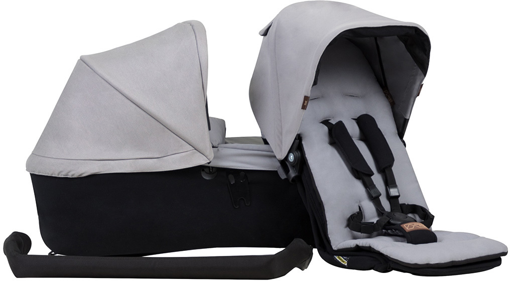 Mountain Buggy Duet Single Family Pack - Silver