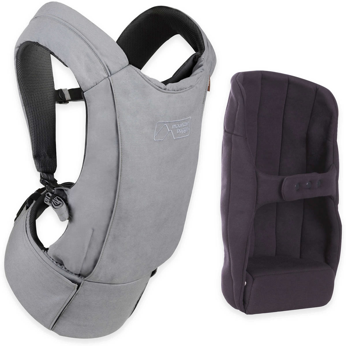 Phil & Teds Mountain Buggy Juno Carrier - Charcoal